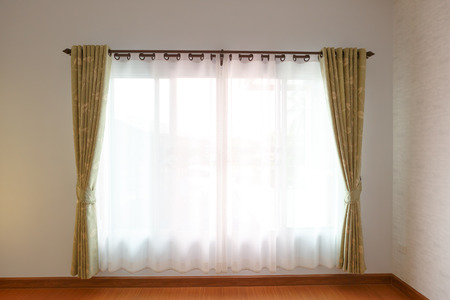 Window with blinds interior