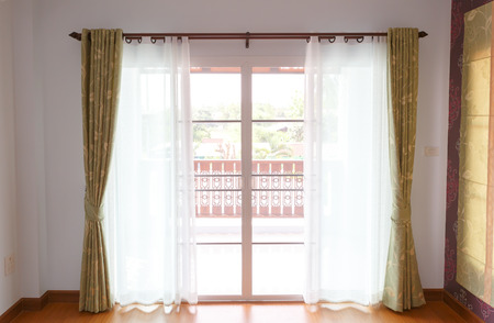 Window with blinds interior  photo