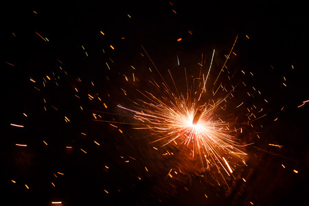 an outburst: Beautiful Firework Stock Photo