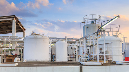 cilindro de gas: Planta química de nitrógeno para la fábrica