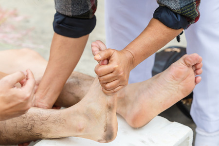 first aid for cramp injury photo