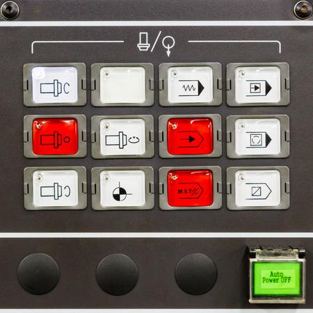 cnc machine: CNC machine control panel