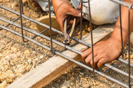 aluminum rod: technician bundle wire steel rod for construction job