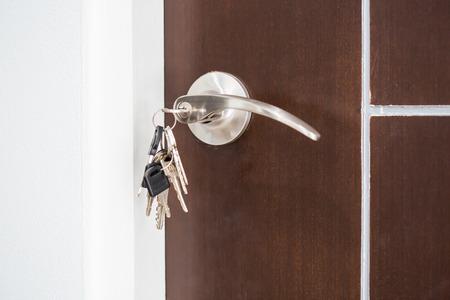 집에서 열쇠를 잊어 버렸습니다. 스톡 콘텐츠 - 37886178
