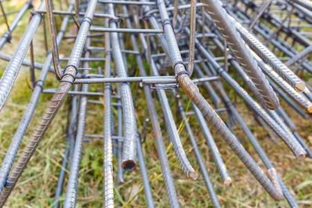 round rods: steel rod for construction job