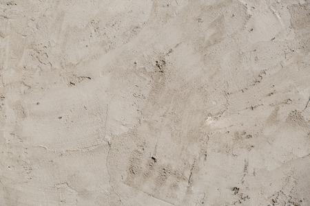plasterer: plasterer concrete on wall of house construction Stock Photo