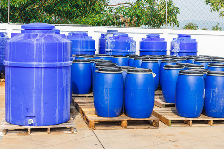 chemical tank in factory photo