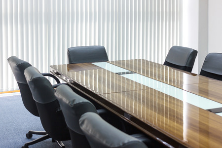 conditioned: Business meeting room in office