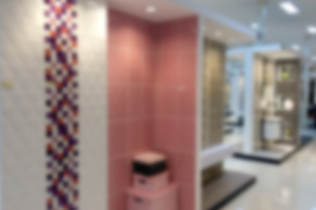 luxery: Toilet and bathroom blurred Stock Photo