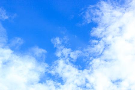 nimbi: clouds on the blue sky Stock Photo