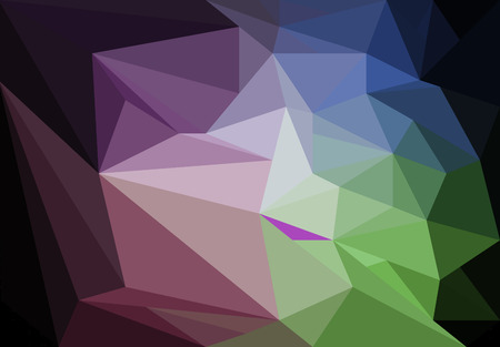 Colorful polygon Abstract background 版權商用圖片