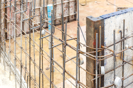 cement pole: Metal mold for cement construction