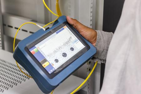 Fiber optic cable testing