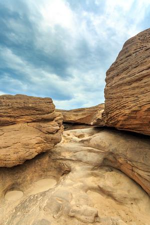 unseen: Unseen Thailand grand canyon sam pan bok at ubonratchathani Stock Photo