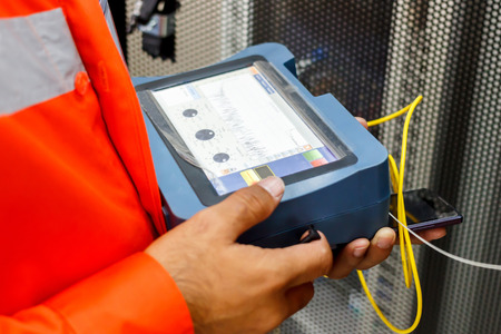Fiber optic cable testing