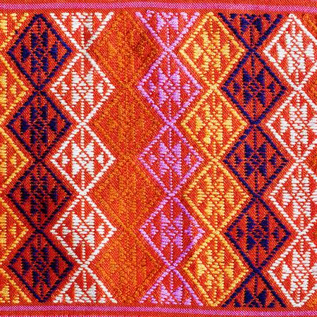 thai silk: Thai silk fabric pattern Stock Photo