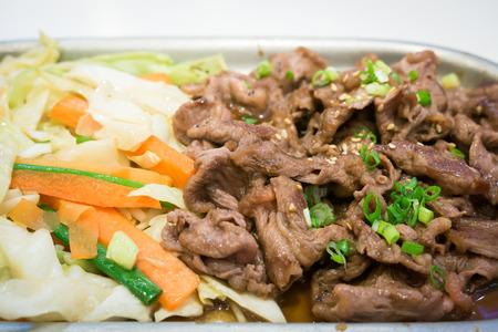 teriyaki: Japanese beef teriyaki grill