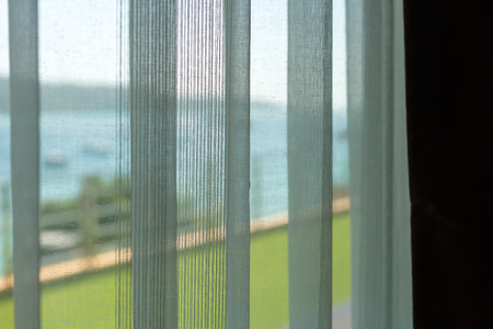 luxury room: curtain for window in luxury room