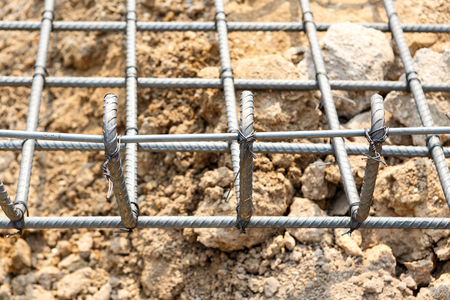 footing: foundation steel for home building