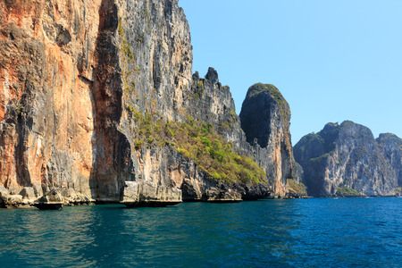 Ckear sea at  Phi Phi Leh south of Thailand