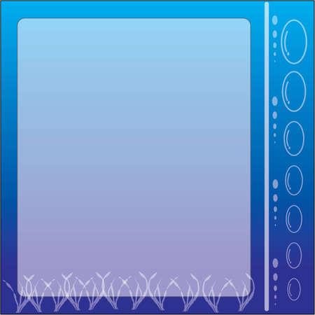 ardour: Frame under sea Illustration