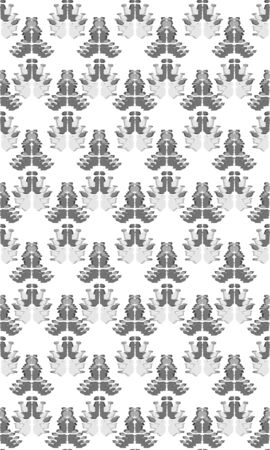 Abstract embroidery seamless ikat pattern. Tribal ethnic folk vector texture.