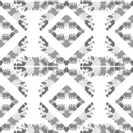 Ethnic wave pattern. Seamless ehnic carpet African pattern. Aztec style. Abstract Geometric mosaic on the tile.