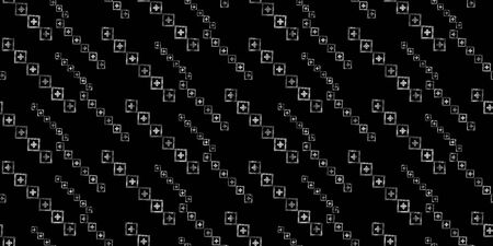 Vector modern geometric seamless pattern. Grey texture with lines, stripes. Simple abstract geometry graphic design. Design for wallpapers, prints, carpet. Vettoriali