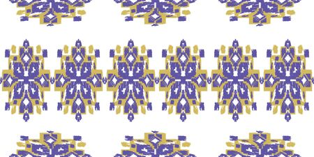 Seamless abstract pattern. Geometric embroidery. Folk ornament. Tribal aztec ethnic vector texture.
