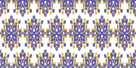 Seamless abstract pattern. Geometric embroidery. Folk ornament. Tribal aztec ethnic texture