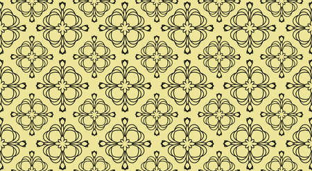 Vector ornament decor. Baroque background textures.Victorian fabric tileVector ornament decor. Baroque background textures.Victorian fabric tile