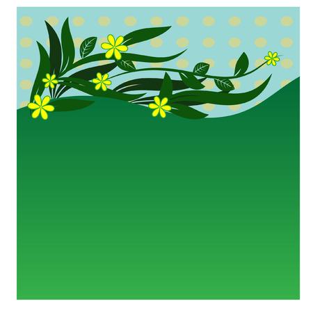 howard: Floral Ornament - Illustration Stock Photo