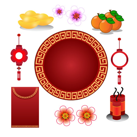 chinese new year decoration: Chinese new year decoration