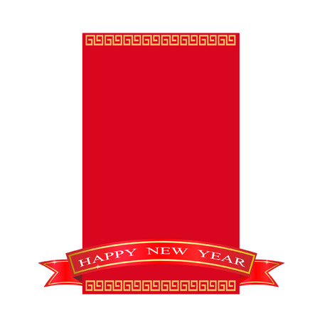 air awareness: Chinese new year Red Packets Illustration