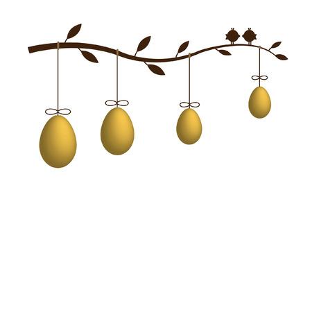 uova d oro: Golden eggs for your Easter