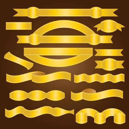 ribbon: gold ribbon