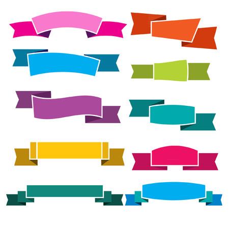 ribbon: Colorful ribbon vector