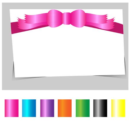 mo�o rosa: vector arco rosado