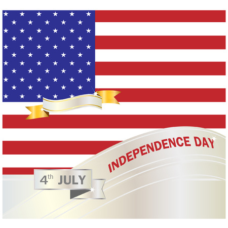 flag background: American Independence day