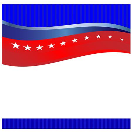 flag banner: American