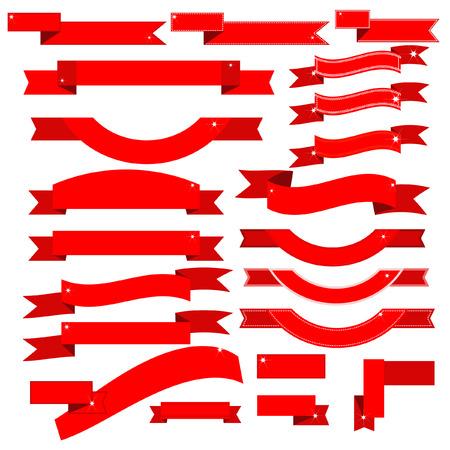 ribbon red: Ribbon red vector
