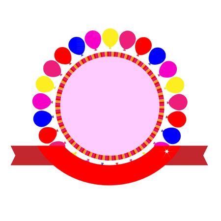 celebration party: Party celebration template vector