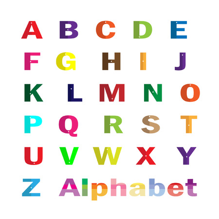 az: Characters AZ vector