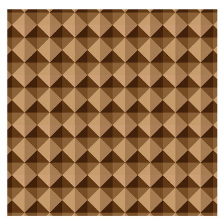 brown: Abstract background brown geometric shapes Illustration