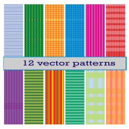 a 12: 12 vector pattern Illustration