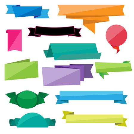 folded: Folded Ribbon Vectors