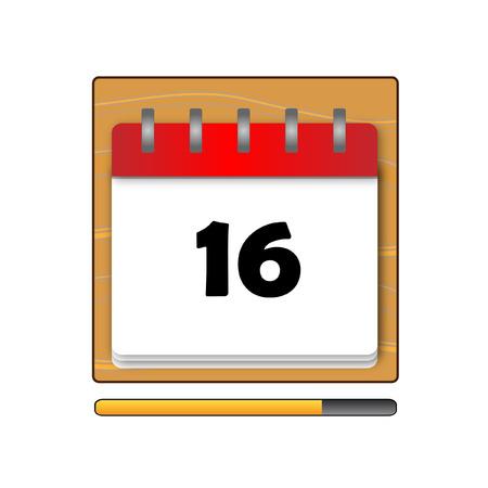 days: The Sixteen days in a calendar