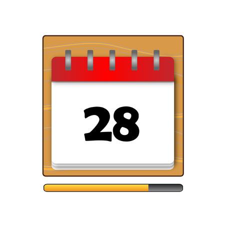 days: The Twenty-eight days on the calendar