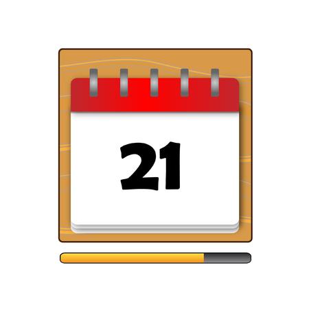 1 january: The Twenty-one days on the calendar