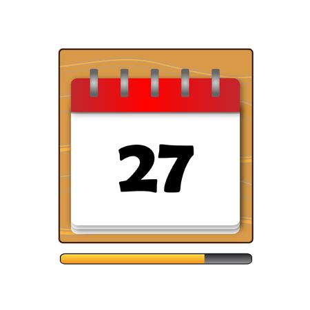 days: The Twenty-seven days on the calendar